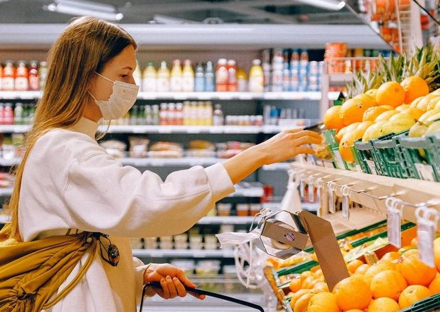 Facemasks are compulsory when shopping from July 24