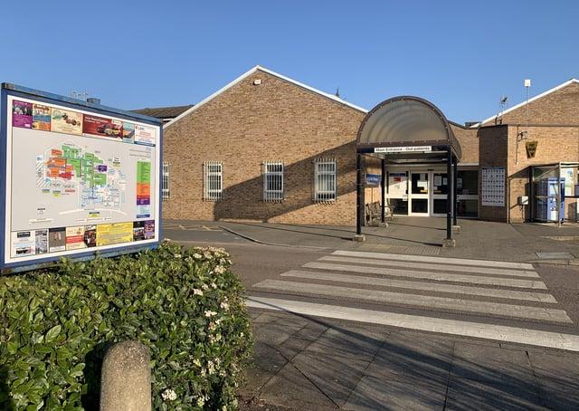 Grantham Hospital A&E, now temporarily an urgent treatment centre. EMN-200207-175759001