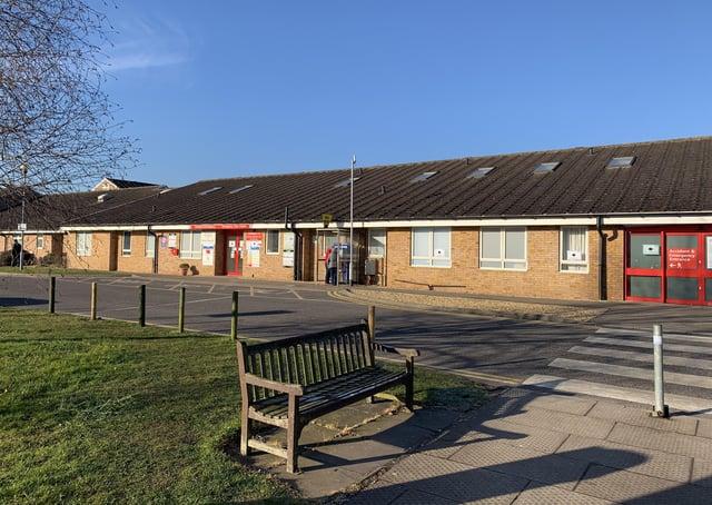 Grantham Hospital A&E, now temporarily an urgent treatment centre. EMN-200207-175832001