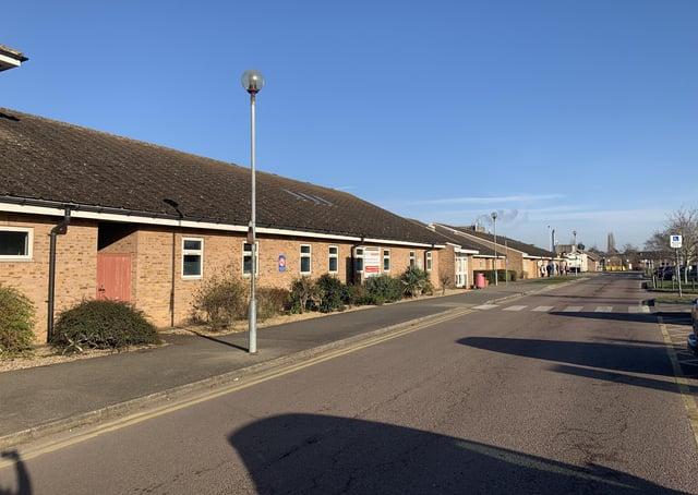Grantham Hospital A&E, now temporarily an urgent treatment centre. EMN-200207-175816001