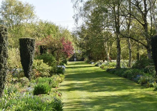 Part of the 4.5 acre garden