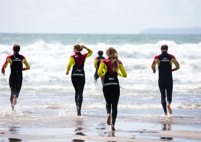 Lifeguard training (stock image).