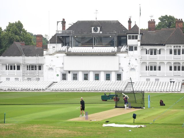 In training at Trent Bridge last month. Photo: GettyImages