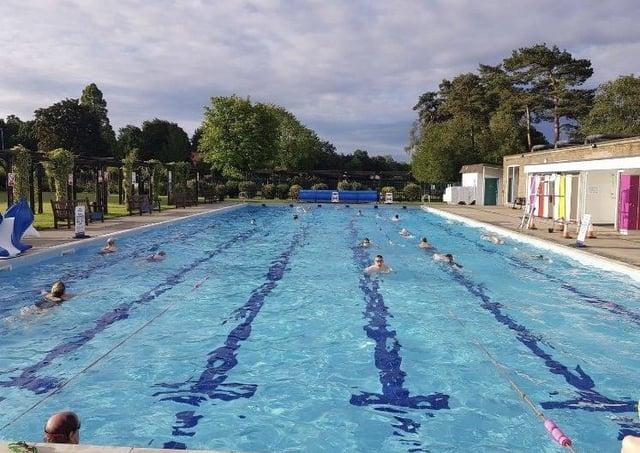 Swimming (stock image)
