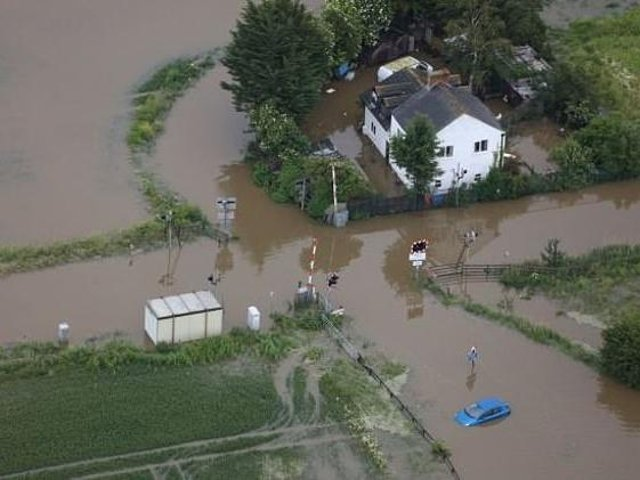Wainfleet was flooded in the summer of 2019