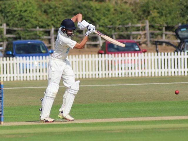 Jack Timby hit 73 runs for the Spa men.