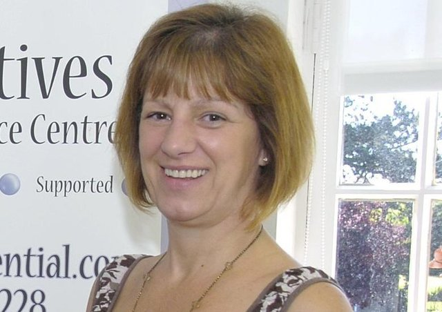 Sue Fortune of Lincs Community Foundation. EMN-200731-161756001