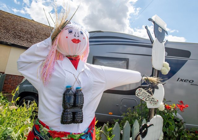 Sutton on Sea Scarecrow Festival