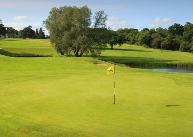 Part of the Kenwick Park course