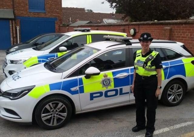 Wolds NPT Inspector Sarah Constantine.
