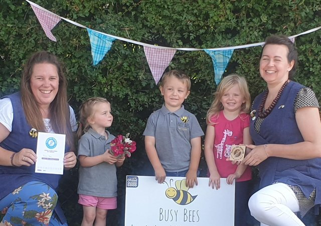 Busy Bees, of Leasingham, are now a Plastic Free Champion.
