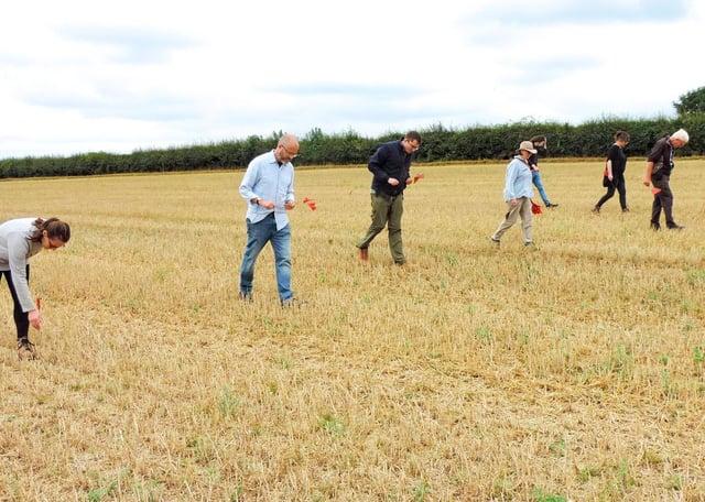 Field walking. EMN-200109-122341001