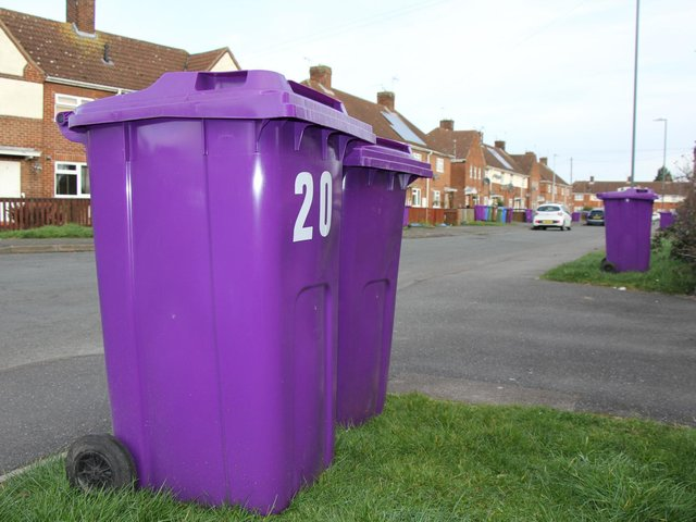 The bins were trialled in areas including Boston