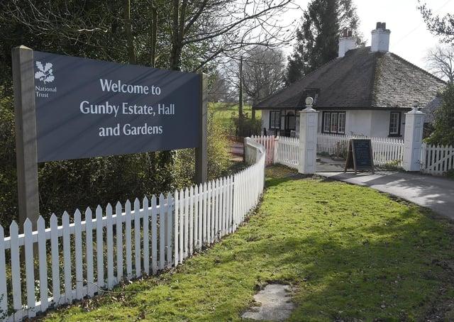 Gunby Hall Estate,Hall and Gardens (photo by David Dawson)
