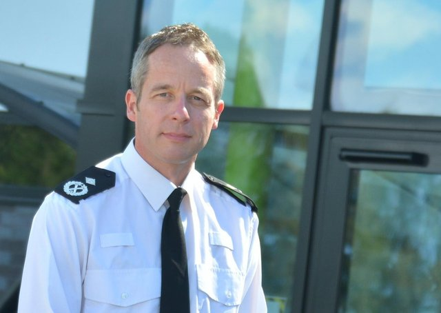 Paul Gibson, nominated as the man to succeed Lincolnshire's Chief Constable Bill Skelly. EMN-200914-094249001