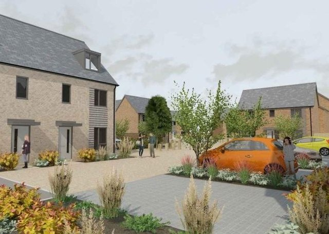 Longhurst group is working with Lindum Group to build 64 new homes at the Handley Chase development site if plans are approved by NKDC. EMN-200915-150400001