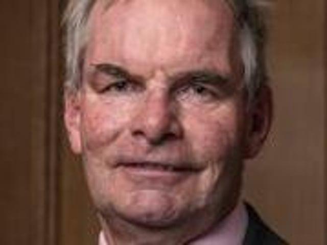 Council leader Martin Hill