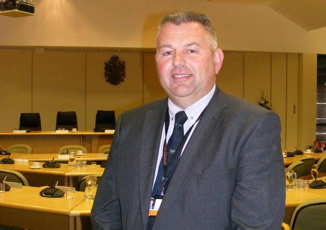 Coun Richard Wright, Leader of North Kesteven District Council. EMN-200925-180147001