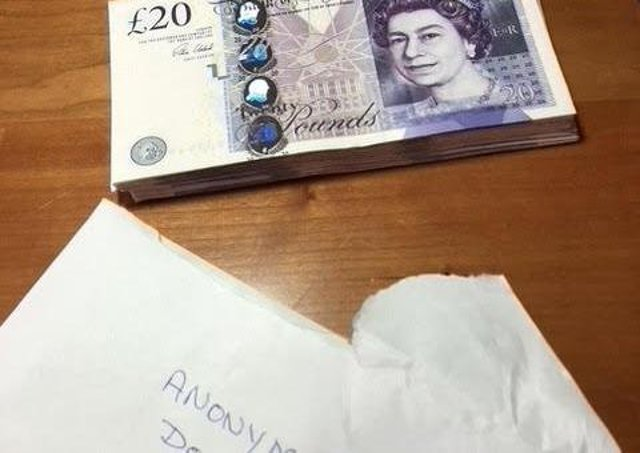 The £1,000 mystery donation. EMN-200928-183610001