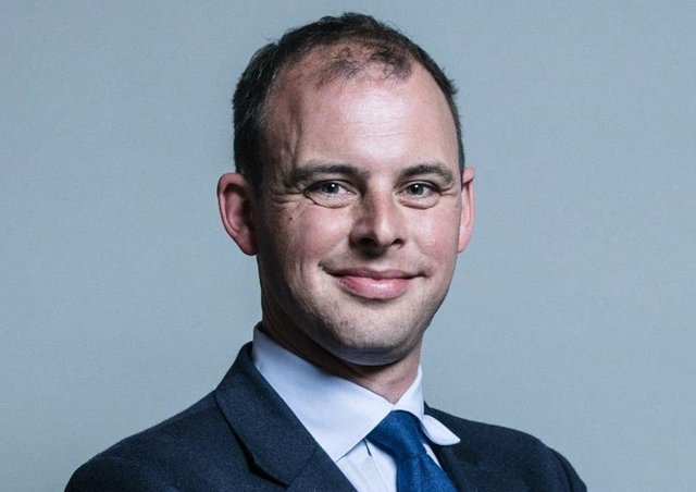 Matt Warman, MP for the Boston and Skegness constituency.