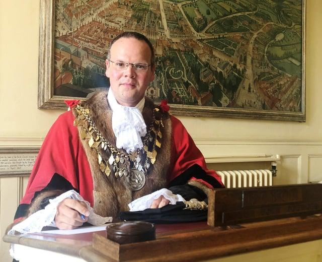Mayor of Louth, Councillor Darren Hobson EMN-200511-160106001