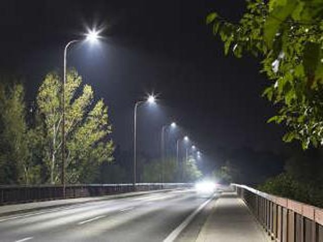 LED street lighting is to be rolled out across East Lindsey.