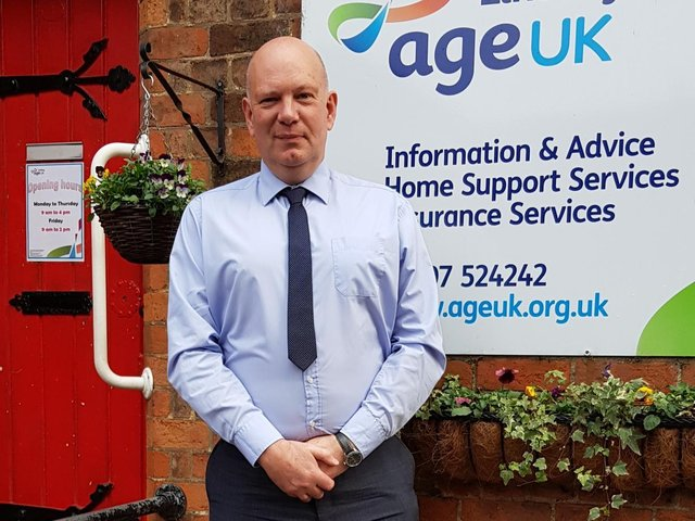 Chief Executive Officer Andy Storer - service provides a lifeline.