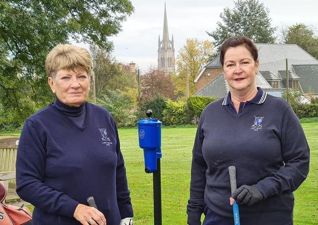 A new Lady Captain and President at Louth GC.