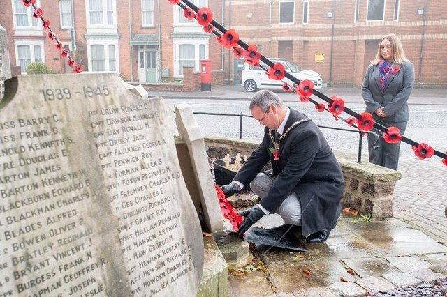 Photographs from Remembrance Sunday in Louth.  (Photos: John Aron Photography)
