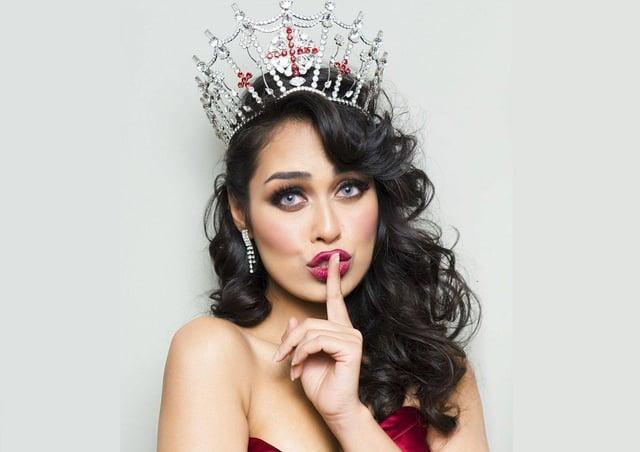 The current Miss England, Bhasha Mukherjee. (Photo: Alan Strutt).