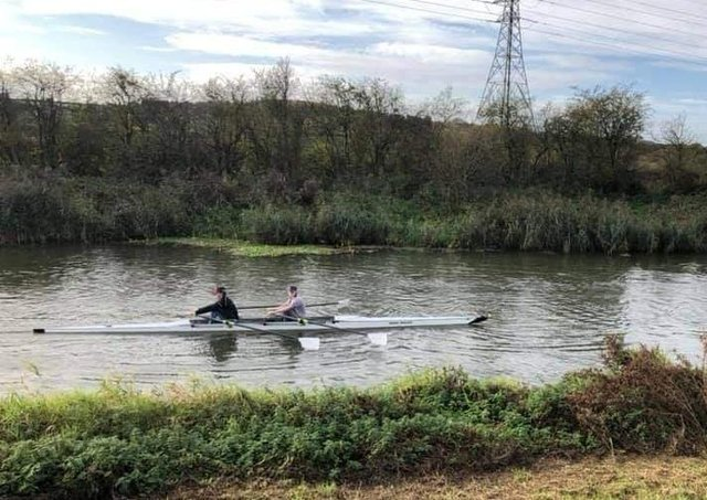 Lance Corporal Elspeth Jolly from Caistor rowed 31.1 miles .