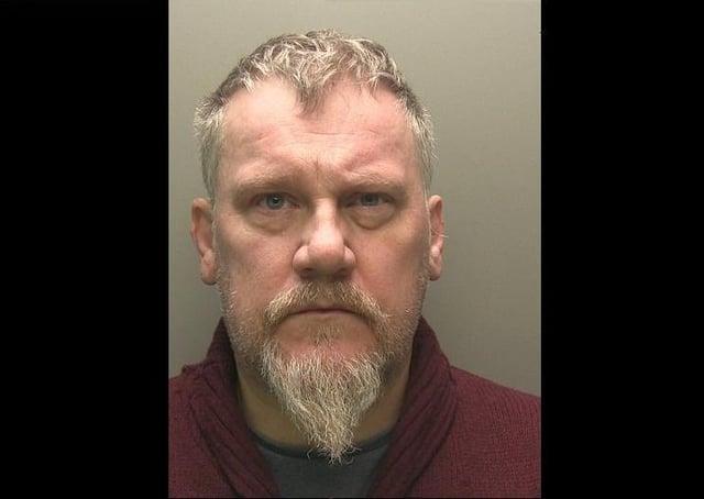 Jailed: Mark Backhurst, 52, of Louth