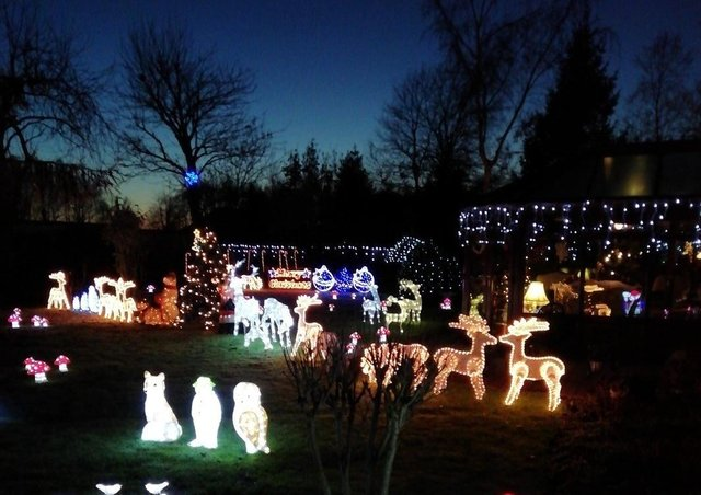 Part of last year's sensational displayPhoto courtesy of Keith & Linda Tyler EMN-201119-130807001