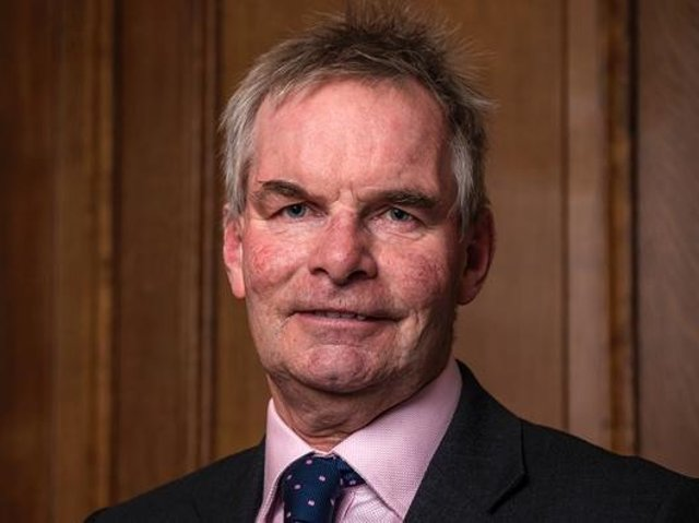Coun Martin Hill, Leader of Lincolnshire County Council.