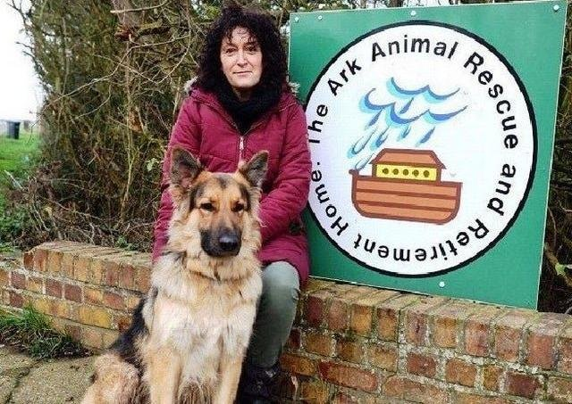 Ark Animal Rescue and Retirement Home owner, Sue Rice.