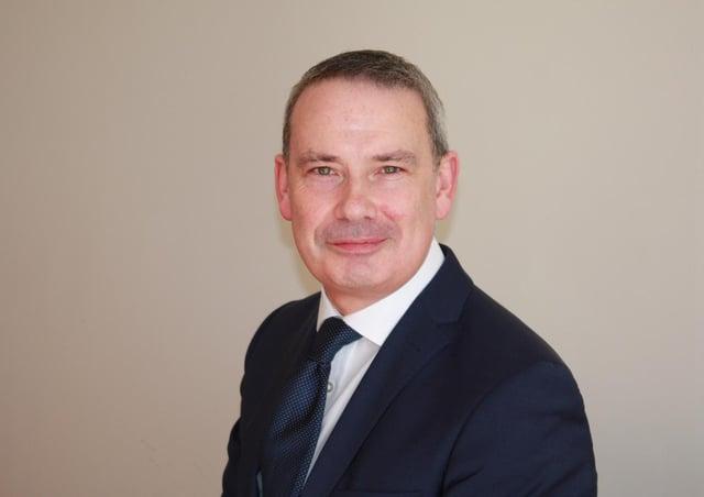 Lincolnshire'sDirector of Public Health, Derek Ward.