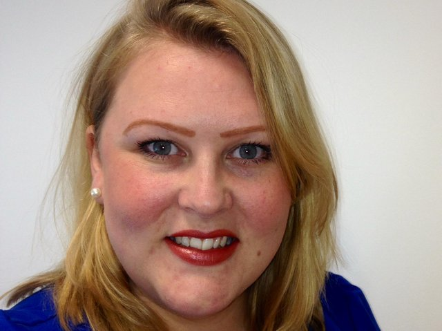 Emily Brown - Age UK Lindsey's new Information and Advice manager.