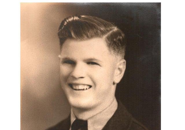 Flight Sergeant Daniel  'Danny' Sorfleet who was awarded his wings just two weeks before that fatal flight. Photos:  Peter Sergeant