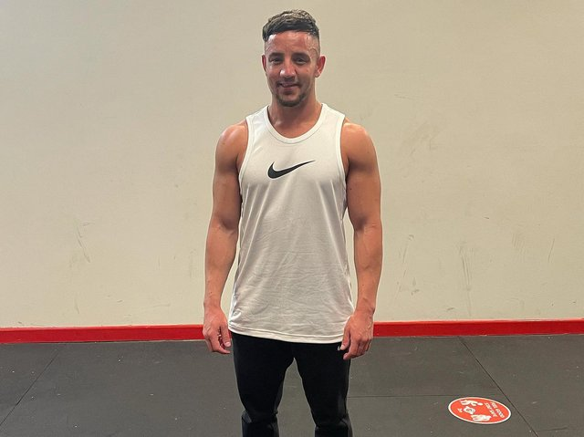 Ryan Gray, owner of Feel Good Gym in Louth.