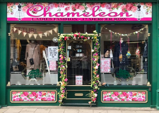 The current shop front, which has been in place since September 2020.