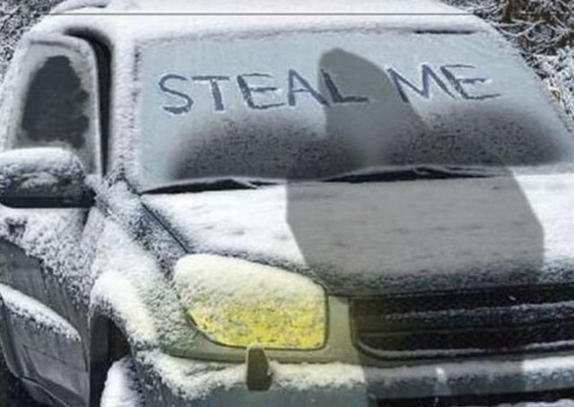 Two vehicles were stolen in Louth this morning. (Photo: Lincolnshire Police)