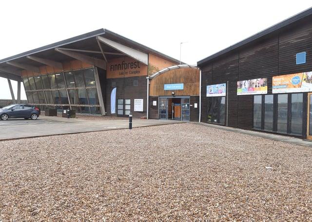 Princess Royal Sports Arena large vaccination centre.