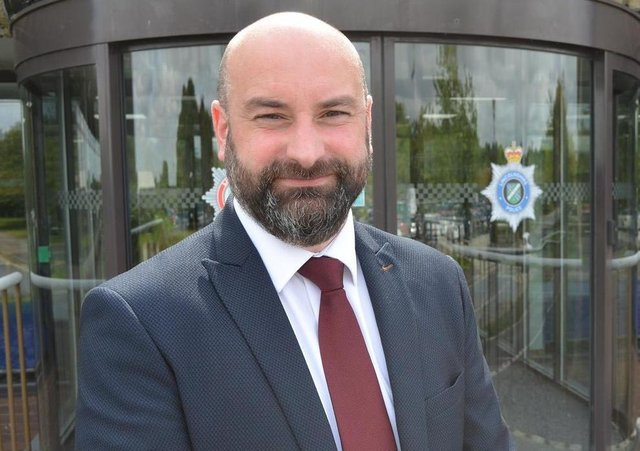 Lincolnshire Police and Crime Commissioner Marc Jones