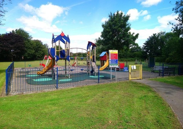 The Prospect Street  play park - the town council will pick up the full repair bill after what one resident claimed was an 'unacceptable' U-turn.