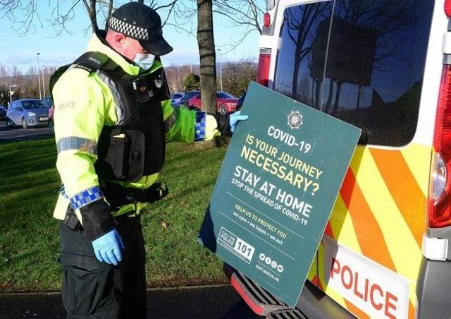 Police are having to cope with an increasing number of Covid related reports and incidents but are still tackling day-to-day crime as well.