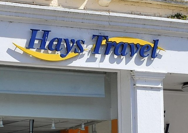 Hays Travel. SUS-201205-165710001