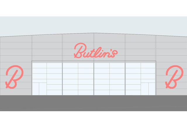 A temporary entertainments venue has been approved for Butlins in Skegness.
