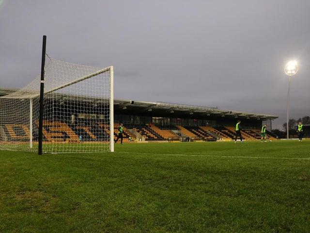 The Jakemans Stadium. Photo: Oliver Atkin.