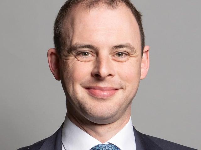 MP for Boston and Skegness Matt Warman..