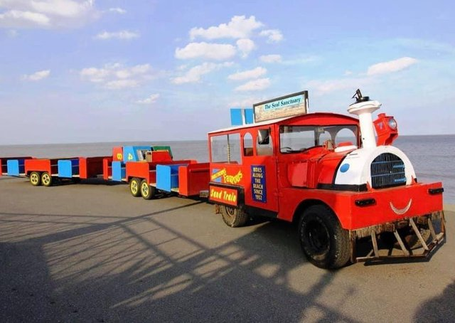 Mablethorpe's Famous Sand Train